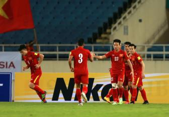 Cuu tuyen thu tin DT Viet Nam du suc vao VCK <b style='background-color:Yellow'>Asian Cup 2019</b>