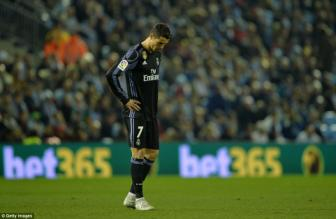 <b style='background-color:Yellow'>Celta Vigo</b> 2-2 Real Madrid: Tan mong an 3
