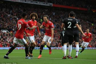 <b style='background-color:Yellow'>Manchester United</b> 4-0 Crystal Palace: Hàng cong quá da dạng