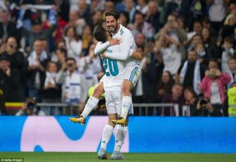 Real Madrid 3-0 Eibar: Dau can den Cris Ronaldo