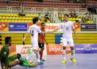 Thai Lan som gianh ve vao ban ket <b style='background-color:Yellow'>Giai futsal vo dich DNA 2017</b>
