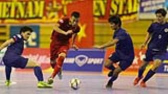 Viet Nam vui dap Philippines 24-0 o <b style='background-color:Yellow'>giai futsal vo dich DNA 2017</b>