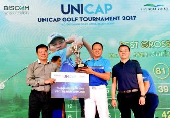 Golfer Ta Anh Chien lan dau vo dich Unicap Golf Tournament 2017