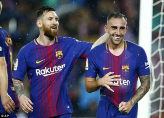 <b style='background-color:Yellow'>Barcelona</b> 2-1 Sevilla: May con co Paco Alcacer