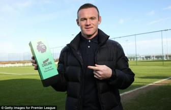 <b style='background-color:Yellow'>Wayne Rooney</b> nhan giai cao quy dau tien cung Everton