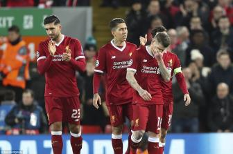 Liverpool 7-0 <b style='background-color:Yellow'>Spartak Moscow</b>: Tam ve cho 'bo tu huy diet'