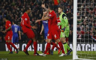<b style='background-color:Yellow'>Liverpool</b> 1-1 Chelsea: Nguòi hùng Simon Mignolet