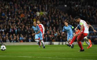 <b style='background-color:Yellow'>Luot di</b> vong 1/8 Champions League: Man City 5-3 Monaco