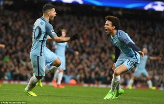 <b style='background-color:Yellow'>Man City</b> 5-3 Monaco: Song lai tu coi chet
