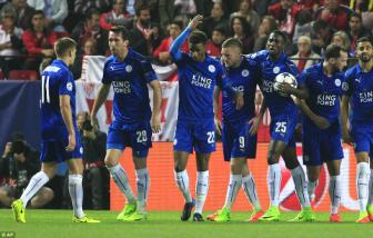 <b style='background-color:Yellow'>Sevilla</b> 2-1 Leicester City: Jamie Vardy niu keo co hoi