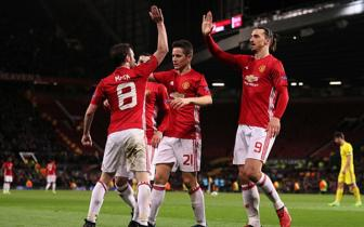 Luot ve vong 1/8 Europa League: Man United 1-0 Rostov