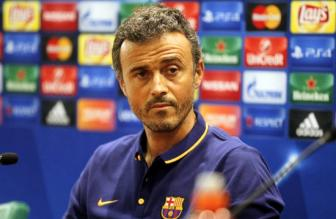 <b style='background-color:Yellow'>Luis Enrique</b> chinh thuc chia tay Barcelona trong mua giai toi