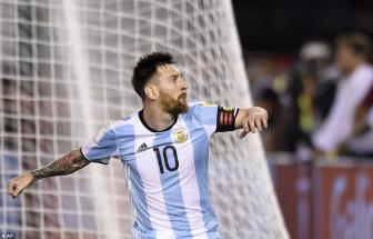 <b style='background-color:Yellow'>Lionel Messi</b> lap cong, Argentina nhoc nhan danh bai Chile