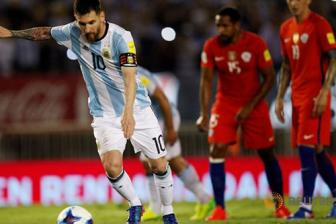 Vong loai World Cup 2018: Argentina 1-0 Chile