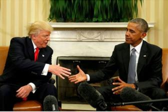 Ong Obama bac cao buoc nghe trom dien thoai cua ong Trump