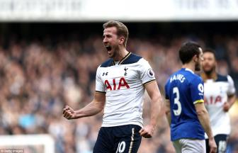 Totte<b style='background-color:Yellow'>nha</b>m 3-2 Everton: Só 1 cho Harry Kane