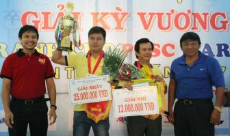 Lai Ly Huynh vo dich giai Co tuong Ky vuong tranh Cup PTSC Marine 2017