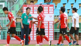 <b style='background-color:Yellow'>Long An</b> khung hoang luc luong nghiem trong truoc tran gap Quang Nam FC