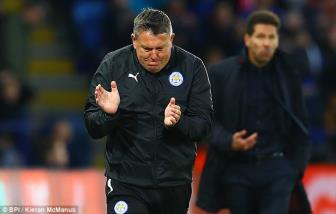 <b style='background-color:Yellow'>Leicester City</b> 1-1 Atletico Madrid (chung cuoc: 1-2): Don hiem cua Simeone