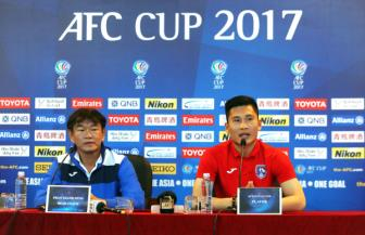Than Quang Ninh tu tin gianh thang loi truoc <b style='background-color:Yellow'>Home United</b> tai AFC Cup