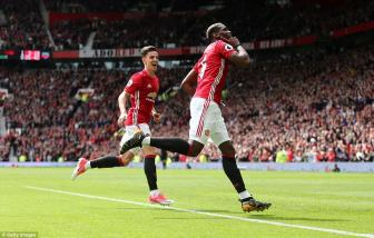 <b style='background-color:Yellow'>Man United</b> 2-0 Crystal Palace: Thien duong goi ten Pogba