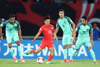 U20 Han Quoc chia tay VCK <b style='background-color:Yellow'>U20 World Cup</b> 2017