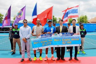 Ly Hoang Nam vo dich Thai Lan F3 Futures