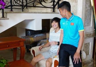 <b style='background-color:Yellow'>DT Viet Nam</b> thieu nguyen mot doi hinh trong ngay tap trung