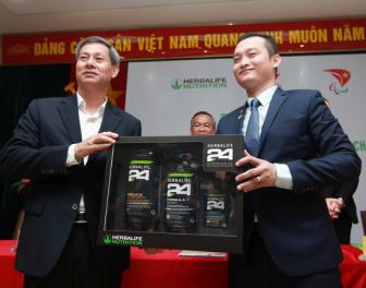 Herbalife tiep tuc dong hanh cung TTVN