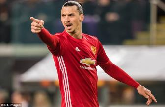 <b style='background-color:Yellow'>Man United</b> chinh thuc cham dut hop dong voi Ibrahimovic
