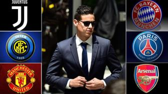 <b style='background-color:Yellow'>MU</b>, Arsenal, PSG hay Bayern, ben do nao cho James Rodriguez?
