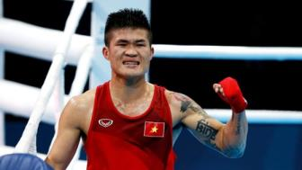 <b style='background-color:Yellow'>Boxing</b> Viet Nam O SEA Games: Truong Dinh Hoang lam khan gia