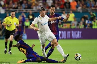 Luot di Sieu cup TBN, Barcelona vs Real Madrid: Dai nao Nou Camp
