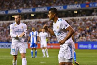 Deportivo 0-3 Real Madrid: Dau an hang tien ve