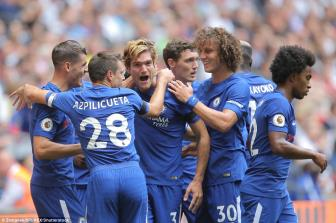 Totte<b style='background-color:Yellow'>nha</b>m 1-2 Chelsea: San dien Wembley goi ten Marcos Alonso