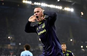 <b style='background-color:Yellow'>Man City</b> 1-1 Everton: Khac tinh Wayne Rooney