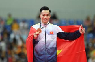 Le <b style='background-color:Yellow'>Thanh Tung</b> hoan thanh hat-trick HCV tai SEA Games 29