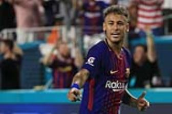 <b style='background-color:Yellow'>Neymar</b> dong y hop dong tri gia 450 trieu bang voi PSG