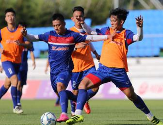<b style='background-color:Yellow'>DT U22 Viet Nam</b> duoc tiep 'doping' trong tran gap Mokpo City FC