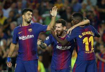<b style='background-color:Yellow'>Barcelona</b> 3-0 Juventus: Khang dinh suc manh cung Lionel Messi