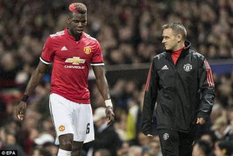 <b style='background-color:Yellow'>Man United</b> tra gia dat cho chien thang truoc Basel