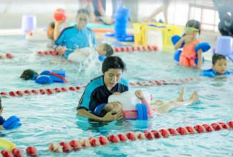 "Tuan le ""SwimSafer"" (Boi an toan) Swimland"