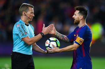 <b style='background-color:Yellow'>Barcelona</b> 6-1 Eibar: Tuyet dinh Lionel Messi