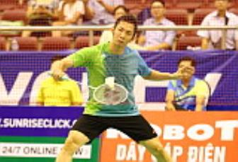 <b style='background-color:Yellow'>Tien Minh</b> thang chong vanh o vong 1 Giai Vietnam Open