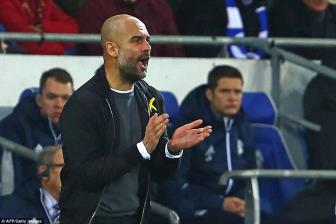 Tien them 1 buoc chinh phuc cu an 4, Pep Guardiola tu hao ve Man City