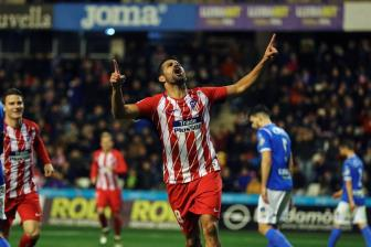 Diego Costa ghi ban trong ngay tai xuat o Atletico Madrid