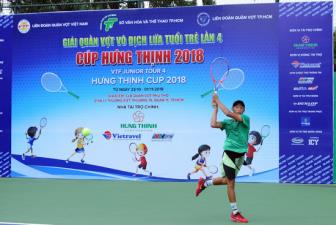 <b style='background-color:Yellow'>Giai quan vot VTF Junior Tour</b> 4- Hung Thinh Cup 2018