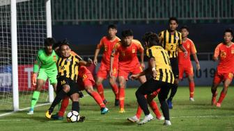 U19 Trung Quoc tien U19 Malaysia khoi <b style='background-color:Yellow'>VCK U19 chau A 2018</b>