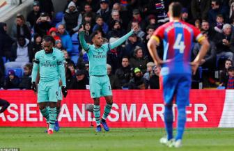 <b style='background-color:Yellow'>Crystal Palace</b> 2-2 Arsenal: 2 qua penalty dinh menh