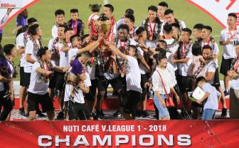 <b style='background-color:Yellow'>Ha Noi</b> FC thang dam ngay nang Cup vo dich V.League 2018
